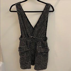 Zara Tweed Pinafore dress.